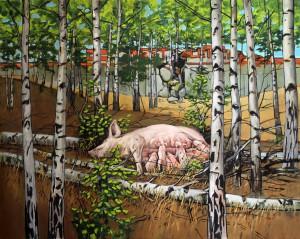Arte e resistenza animale: scene da un mondo senza sfruttamento- intervista a Hartmut Kiewert