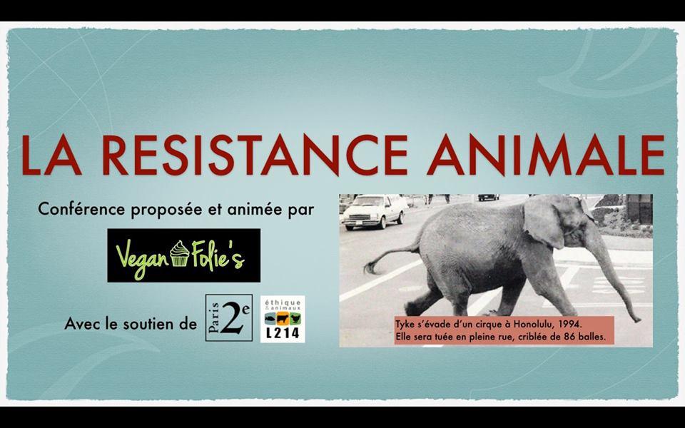Resistenza animale conferenza sulla resistenza animale for Parigi a febbraio