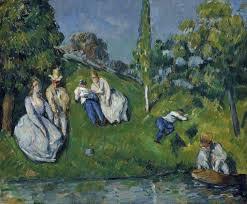 La Scampagnata - di Paul Cézanne